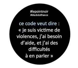 Code violence point noir
